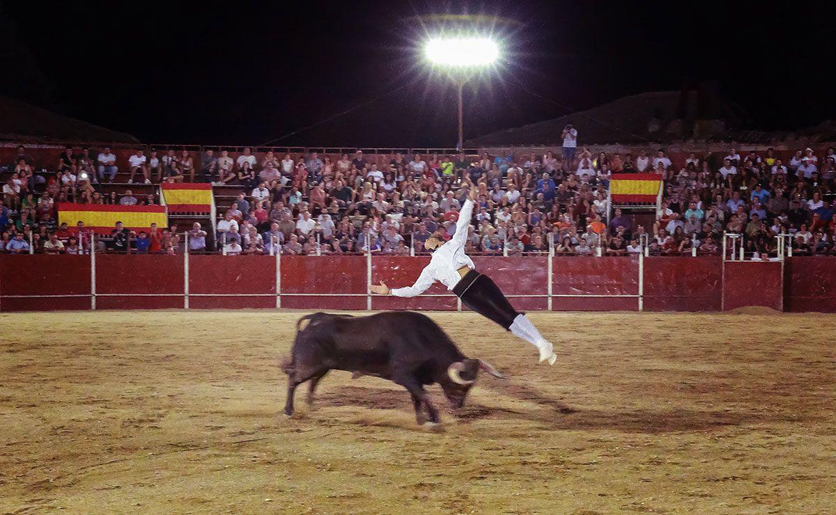 Recortadores de toros