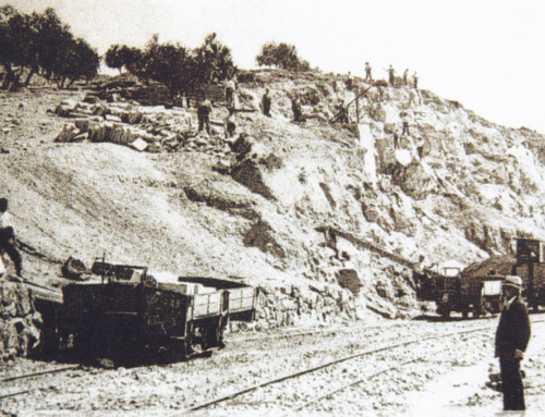 The Railway and the Quarries