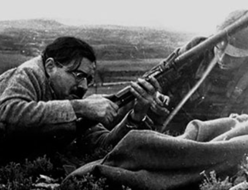 HEMINGWAY IN THE BATTLE